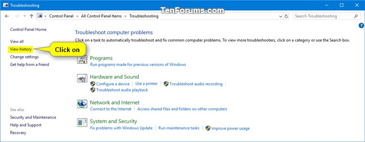 Clear Troubleshooting History in Windows 10-view_troubleshooting_history-1.jpg