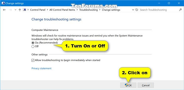 Enable or disable scheduled system maintenance in windows name computermaintenancesettings 2g views 329 size 461 kb pronofoot35fo Choice Image