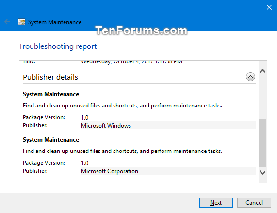 Run System Maintenance Troubleshooter in Windows-system_maintenance_troubleshooter-5b.png