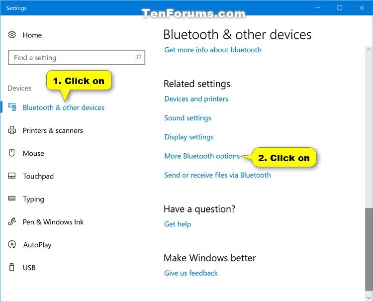 Turn on or off bluetooth notification area icon in windows 10 name bluetoothsettings 1g views 2222 size 627 kb ccuart Gallery