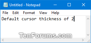 Change Text Cursor Thickness in Windows 10-default_cursor_thickness.png