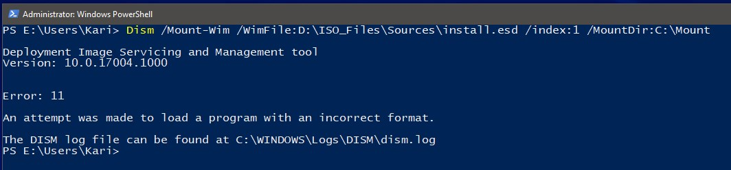 Convert ESD file to WIM using DISM in Windows 10 Windows 10 Tutorials