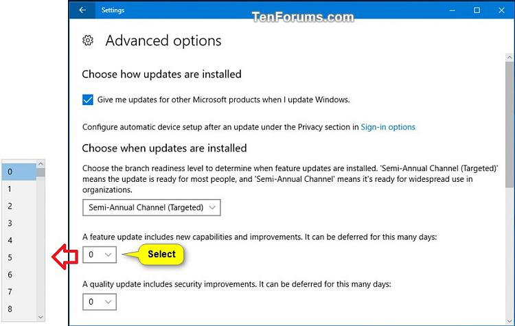 Windows Update - Defer Feature and Quality Updates in Windows 10-defer_feature_updates-3.jpg
