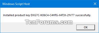windows 10 pro free upgrade product key