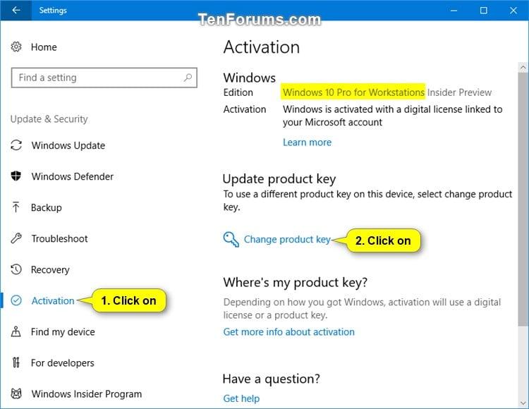 Downgrade Windows 10 Pro for Workstations to Windows 10 Pro | Tutorials
