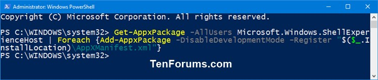Name:  Re-register_Start_menu_all_users-1.jpg Views: 2227 Size:  39.4 KB