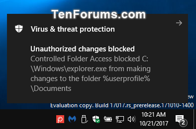 Add Protected Folders to Controlled Folder Access in Windows 10-controlled_folder_unauthorized_changes_blocked.png