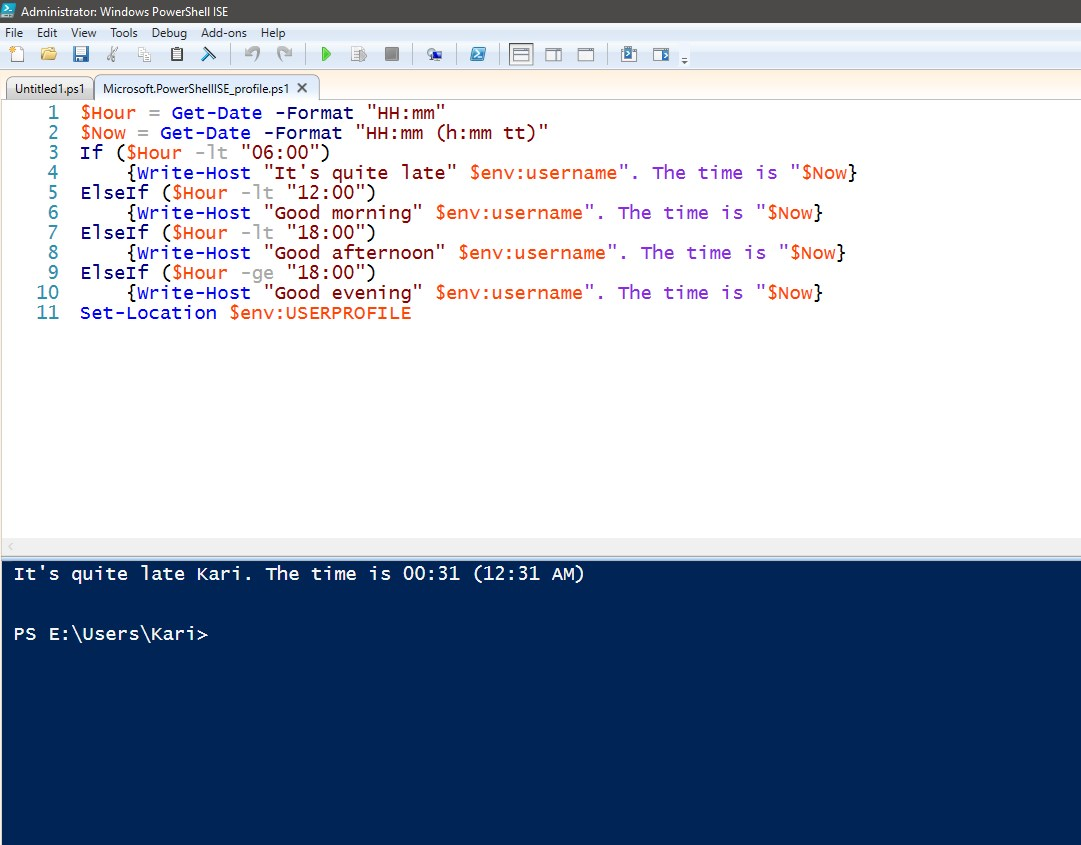 PowerShell Scripting - The Basics | Tutorials