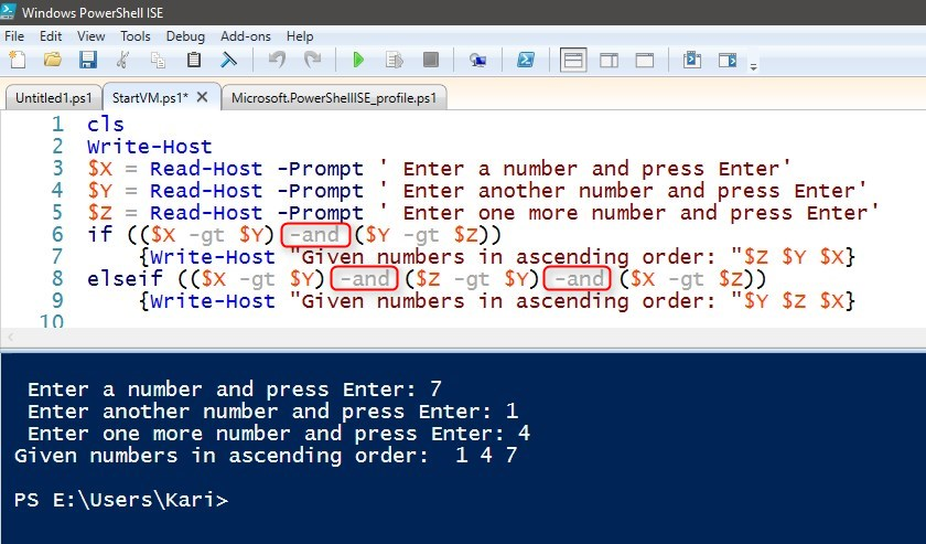 PowerShell Scripting - The Basics | Tutorials