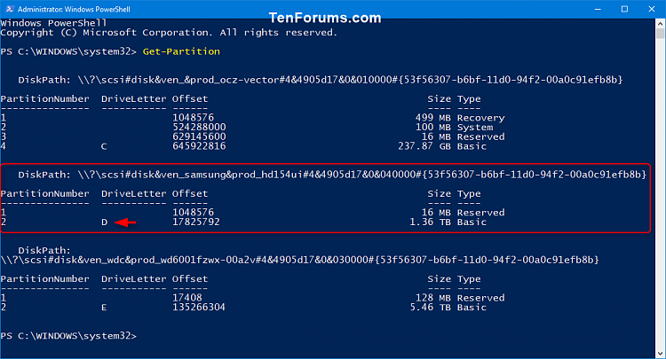 Click image for larger version.  Name:Shrink_Volume_in_PowerShell-1.png Views:110 Size:48.1 KB ID:159853