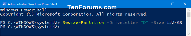 Name:  Shrink_Volume_in_PowerShell-3.png Views: 2210 Size:  11.7 KB