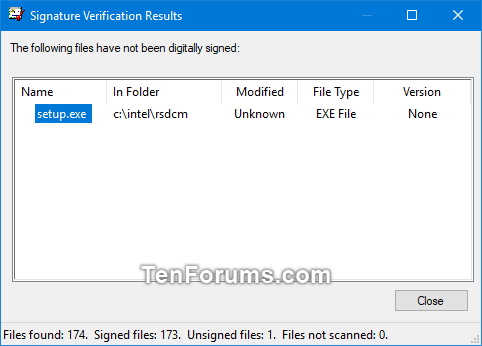 Verify if System Files and Drivers are Digitally Signed in Windows-sigverif-4.png