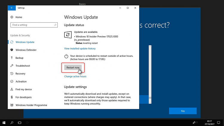 Windows Insider - Clean install latest Fast Ring build-image.png