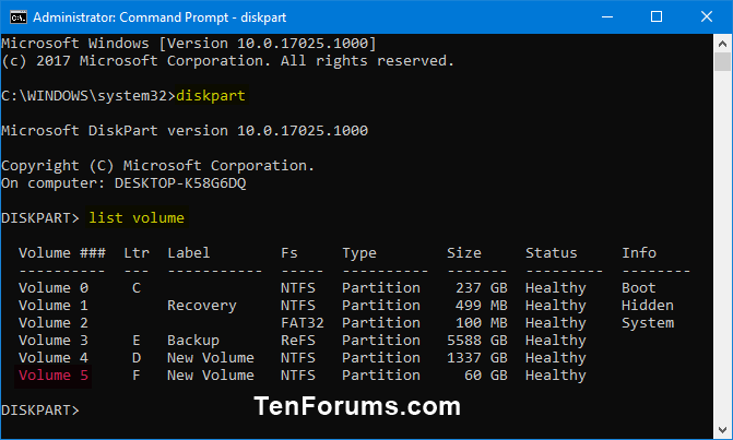 Name:  Delete_Volume_in_command_prompt-1.png Views: 260 Size:  24.1 KB