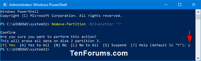 Name:  Delete_Volume_in_PowerShell-2.png
