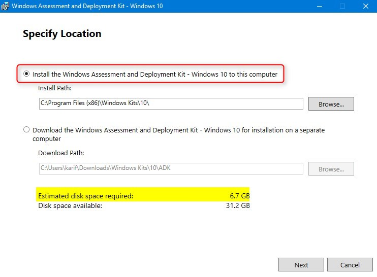 Create media for automated unattended install of Windows 10