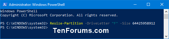 Name:  Extend_Volume_in_PowerShell-3.png Views: 2802 Size:  8.6 KB