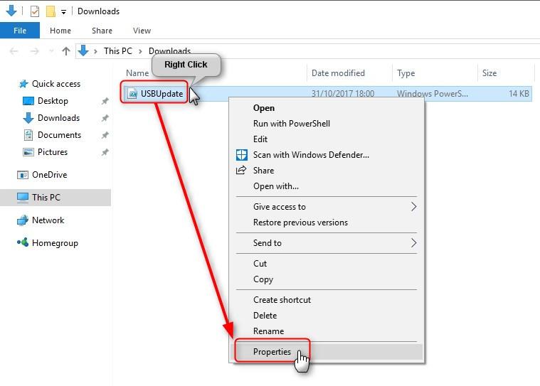 PowerShell Scripting - Update Windows 10 USB install media