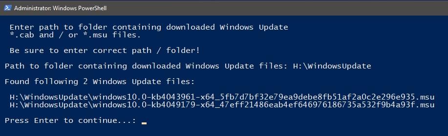 PowerShell Scripting - Update Windows 10 USB install media   Tutorials