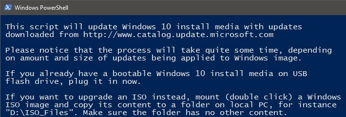 PowerShell Scripting - Update Windows 10 USB install media | Tutorials