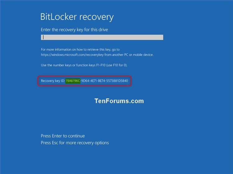 how to open windows 10 recovery
