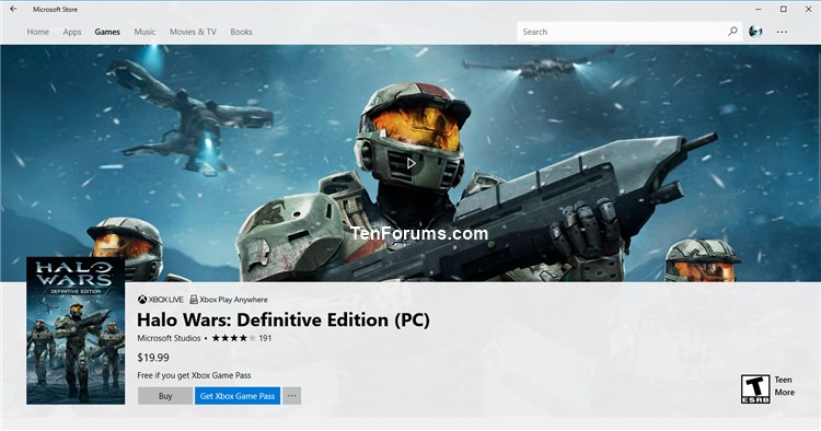 Turn On or Off Video Autoplay in Microsoft Store App in