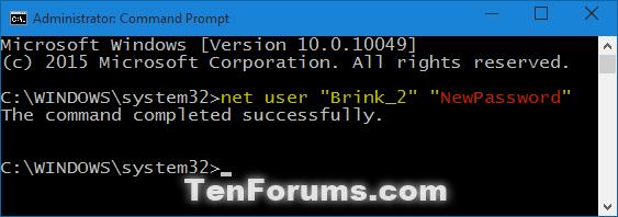 Change Account Password in Windows 10-change_password_cmd_no_prompt.png