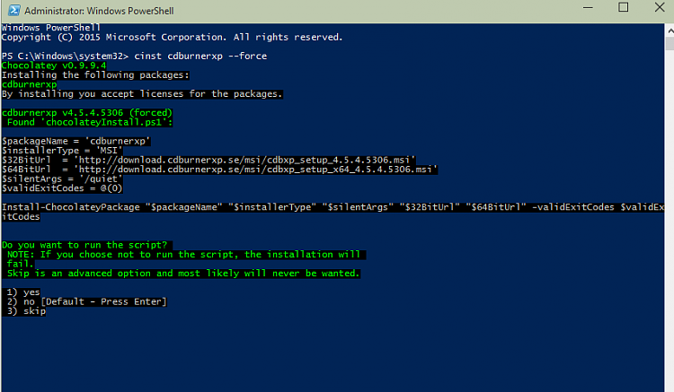 PowerShell PackageManagement (OneGet) - Install Apps from Command Line-pwrshell.png
