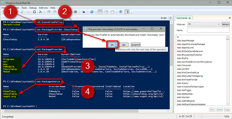 PowerShell PackageManagement (OneGet) - Install Apps from Command Line-2015-04-11_18h17_47.png