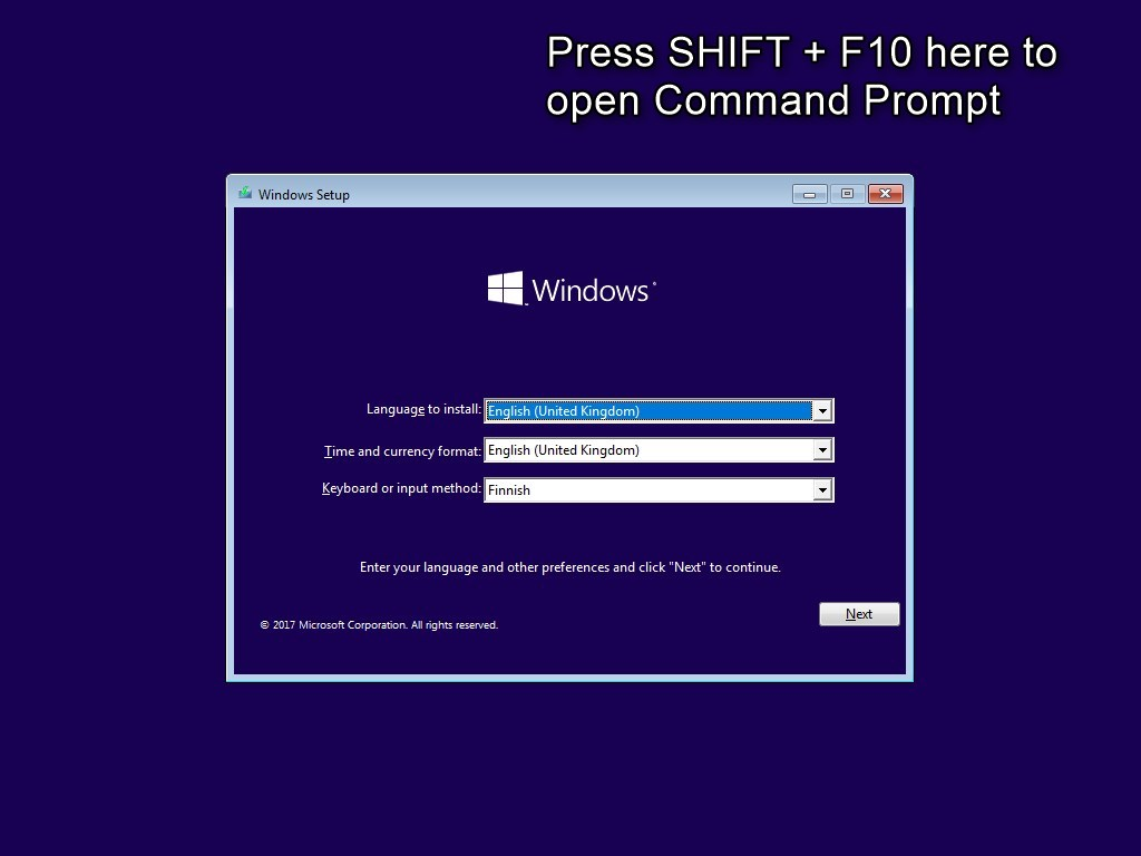 Diskpart How To Partition Gpt Disk Windows 10 Tutorials