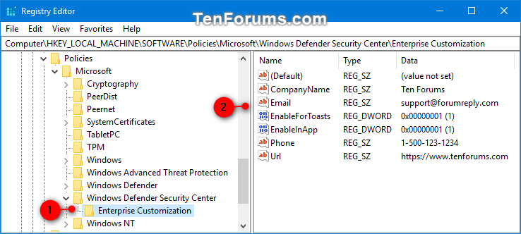 Add Support Contact Information to Windows Security in Windows 10-windows_defender_security_center_contact_info_regedit.png