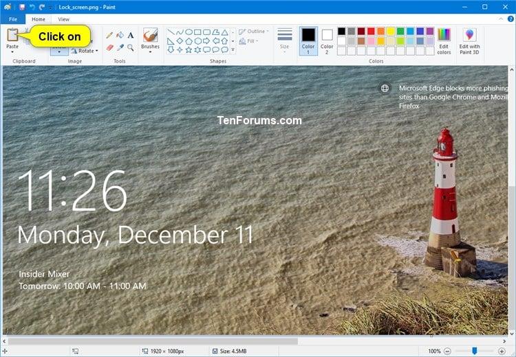 how to take screenshot of video in windows 10