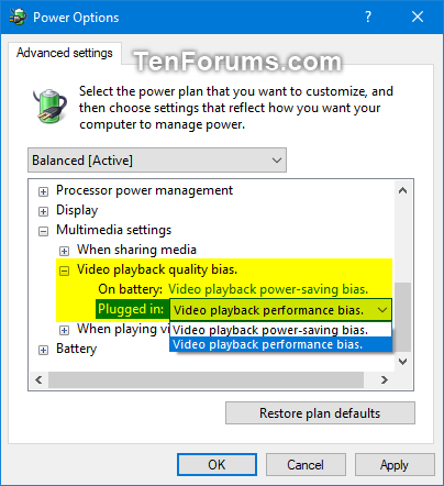 Remove 'Video playback quality bias' in Power Options in Windows-video_playback_quality_bias_in_power_options.png