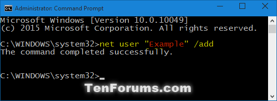 Add Local Account or Microsoft Account in Windows 10-add_user_command-1.png