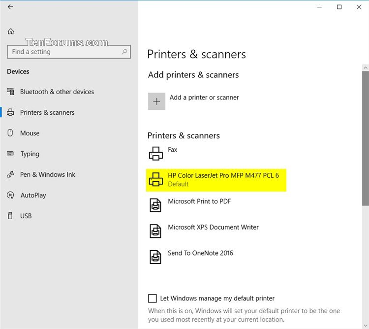 set print pdf windows 10