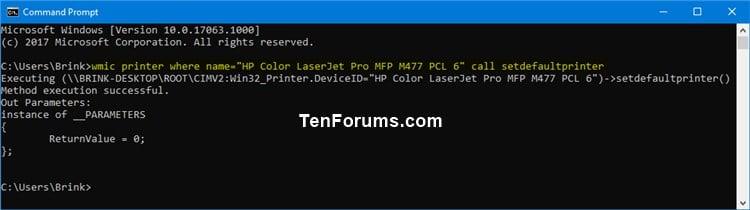 Set Default Printer in Windows 10 | Tutorials