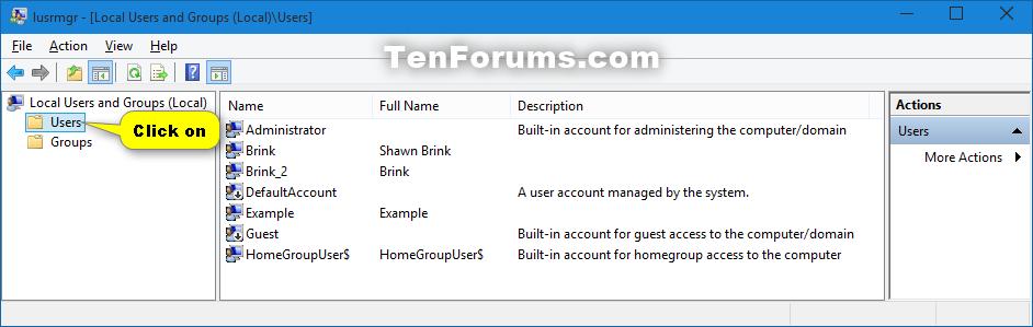 Delete User Account in Windows 10 | Tutorials