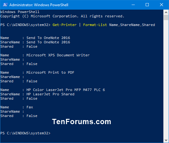 Share a Printer in Windows 10-get-printer_powershell.png