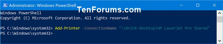Name:  Add_Shared_printer_in_PowerShell-1.jpg Views: 12797 Size:  29.9 KB