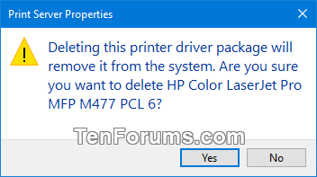 how to delete new drivers windows 10