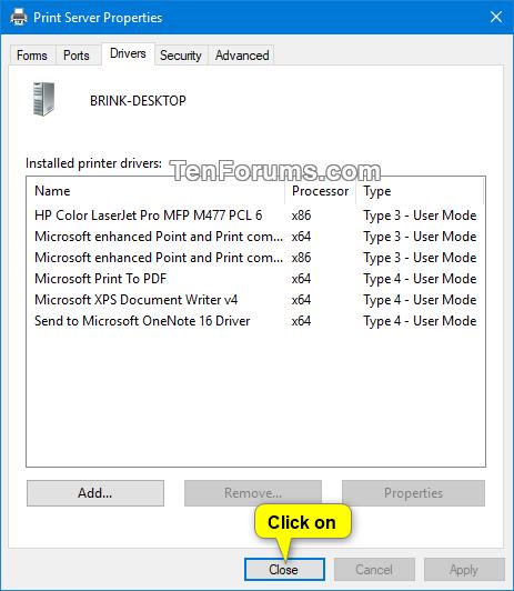 Uninstall Printer Driver in Windows 10 | Tutorials