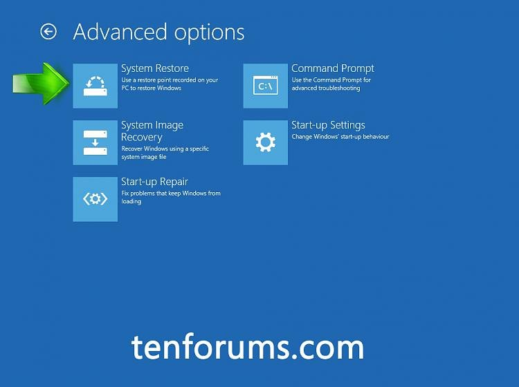 Click image for larger version.  Name:Advanced Options System Restore.jpg Views:2592 Size:211.5 KB ID:17118