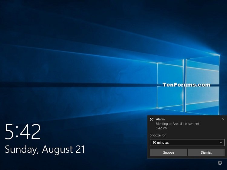 Turn On or Off Lock Screen Notifications in Windows 10
