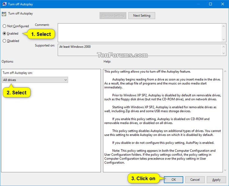 Enable or Disable AutoPlay for All Drives in Windows-autoplay_for_all_drives_gpedit-2.jpg