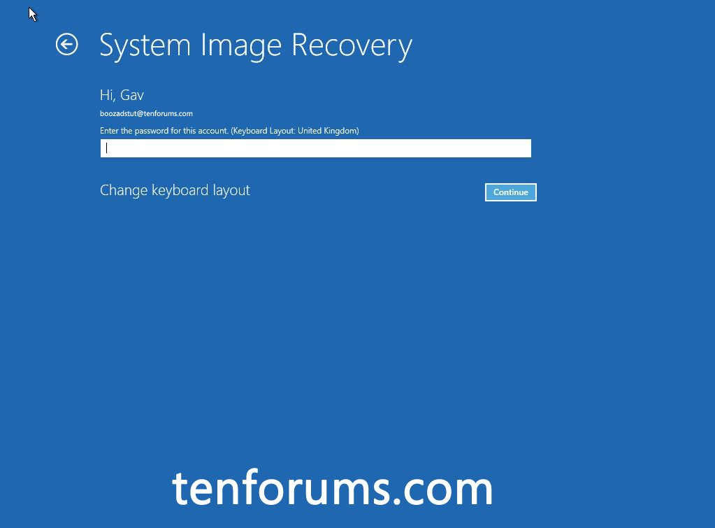 Troubleshoot Windows 10 failure to boot using Recovery Environment