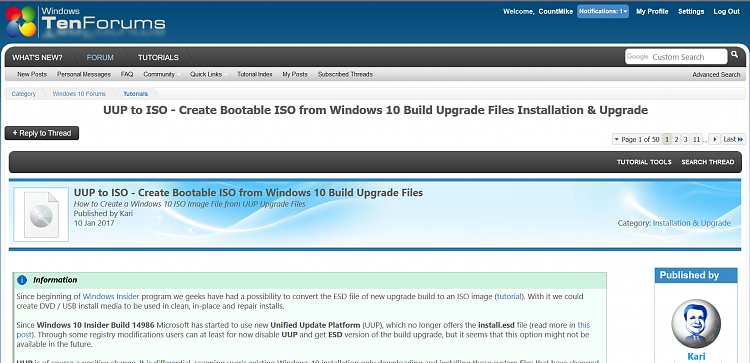 Uup To Iso Create Bootable Iso From Windows 10 Build
