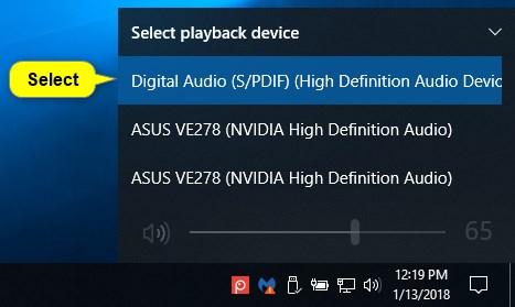 Change Default Audio Playback Device in Windows 10-audio_playback_device_volume_icon-3.jpg
