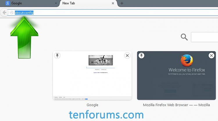 Click image for larger version.  Name:FireFox New Tab URL 2.jpg Views:239 Size:103.6 KB ID:17280