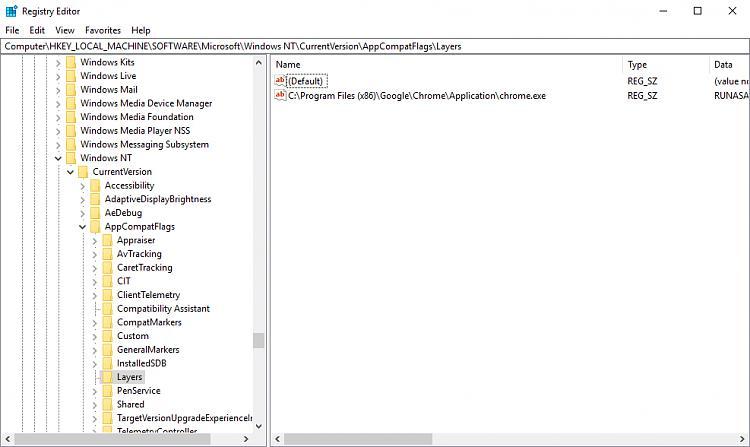 Click image for larger version.  Name:Chrome RUNASADMIN.jpg Views:92 Size:261.6 KB ID:174931