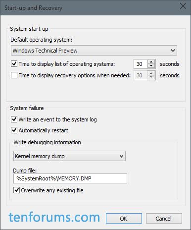 Configure Windows 10 to Create Minidump on BSOD-kernal-dump-save-location.png